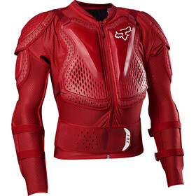 Fox Titan Sport Protector Jacket flame red